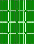Illustration grön solcellspanel